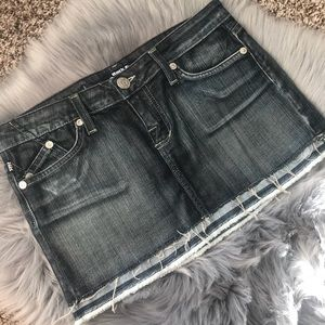Rock & Republic Denim Mini Skirt